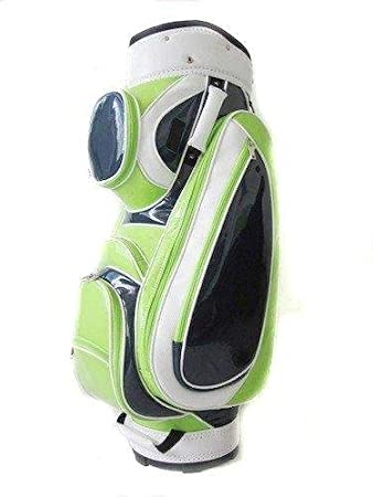 Amazon.com: Ladies Classic Patent Cal Cart Bag: Sports ...