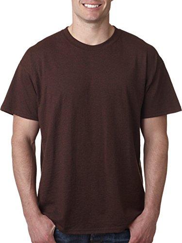 Pour Roux shirt Gildan Courtes T Manches À Homme Brun qvWXw