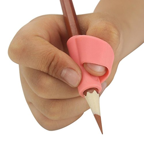 Pencil Grip Motop Pencil Holder Pen Writing Aid Grip Posture Correction Tool Writing CLAW for Pencils and Utensils 3PCS/Set (C)