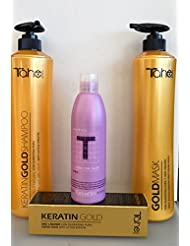Tahe Keratin Gold with No Sodium Chloride Kits: Shampoo.