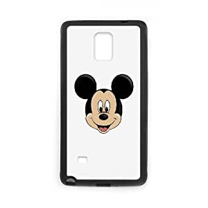 Samsung Galaxy Note 4 Cell Phone Case Black mickey mouse logo disney B3N2WM