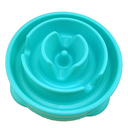 Slow Feeder Bowl,RIGOGLIOSO Fun Feeder Interactive Bloat Stop Dog Bowl,Eco-friendly Durable Non Toxic Bamboo Fiber Slow Feed Dog - Delivery Canada Usps