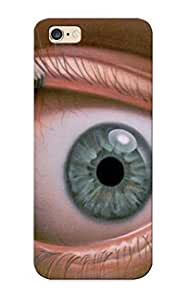KrOrA0VJenN Faddish Funny Monster Eye Case Cover For Iphone 6 Plus With Design For Christmas Day's Gift