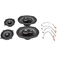 1997-2003 Buick Century Complete Factory Replacement Speaker Package by Skar Audio