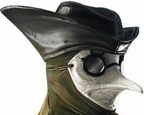 96874a5672cfb Amazon.com: Helen Ou@horrible Beak Doctor Mask Assassins Brotherhood Plague  Crow: Toys & Games