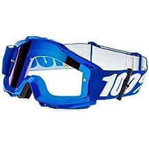 100% unisex-adult Goggle (Blue,Mirror Blue,One Size) (ACCURI ACC Blue Mirror Lens/Blue)