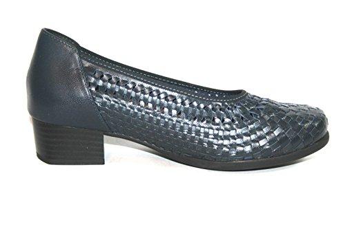 Think! - Zapatos con correa de tobillo Mujer Blau (ocean/stahlblau 80141)