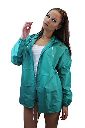 para Verde Abrigo Impermeable Foxy Mujer Miss qCgwAvtW