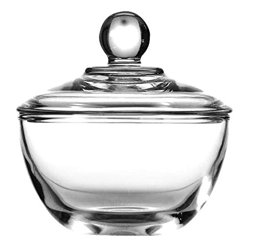 Anchor Hocking 64192B Presence Sugar Dish with Cover,8 oz. by Anchor Hocking