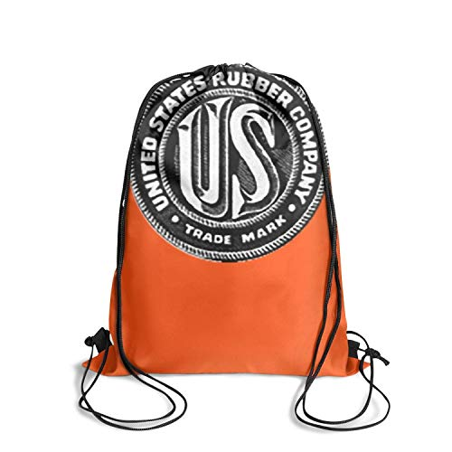 - YTYHE United States Rubber Vintage Durable Drawstring Backpack for School Patterned Cool