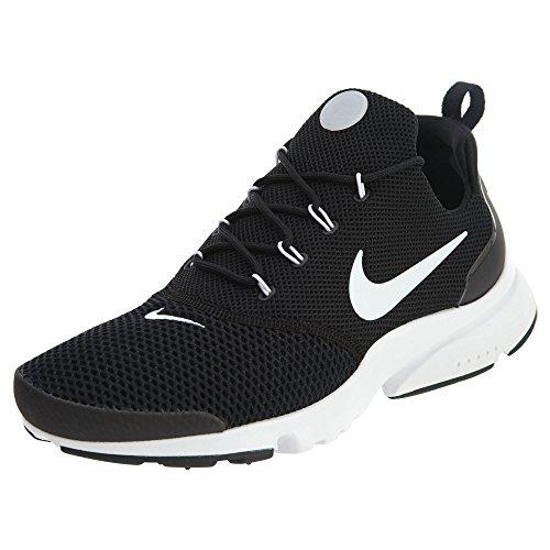 NIKE New Herren Presto Fly Running Sneaker Schwarz / Weiß-Schwarz
