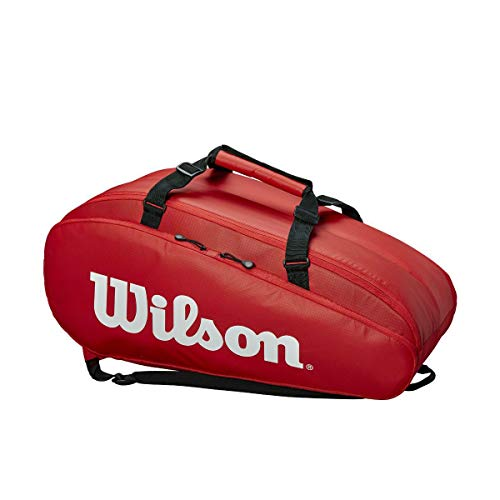 Wilson Super Tour 2 Compartment Tennis Bag (Red)