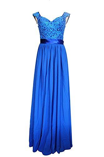 Kleid FineApparel Königsblau Kleid FineApparel Damen Maxikleid Maxikleid Königsblau Damen Maxikleid Damen FineApparel Kleid t6tqWwdarx