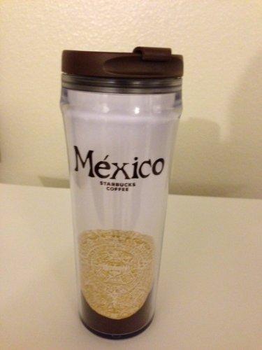 Starbucks Mexico Plastic No Spill Coffee Travel Mug