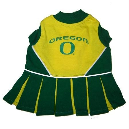 - Pets First Oregon Ducks Team Pet Dog Cheer Leading Sports Outfit Extra Small