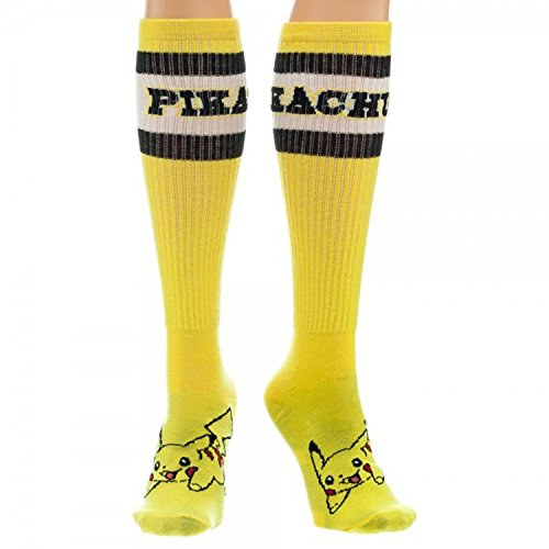 Pokemon Pikachu Junior Womens Knee High Socks