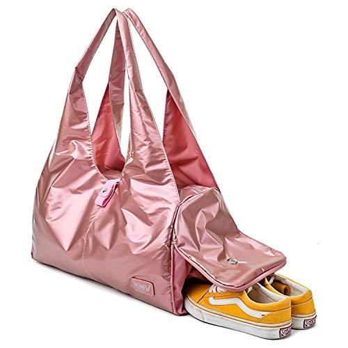 Brave Heart Sporttasche mit Schuhfach und Nassfach, Yoga-Tasche, Reisetasche, 35 l, wasserdicht, für Männer und Frauen…