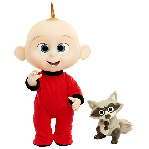 The Incredibles 2 Jack-Jack Plush-Figure Features Lights & Sounds and comes with Raccoon Toy by The Incredibles 2 (Image #3)