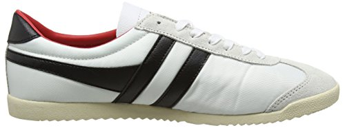 White Baskets Homme Black Gola Blanc Bullet Red Nylon XqvPS