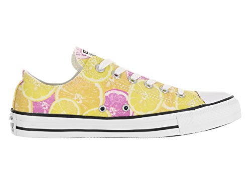 Yellow Pink Star Zapatillas All unisex Orange Hi Converse SqCAwR4x