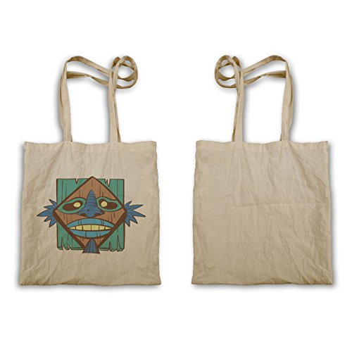 Tote Bag P880r Di Maschera Tribale Aloha Art
