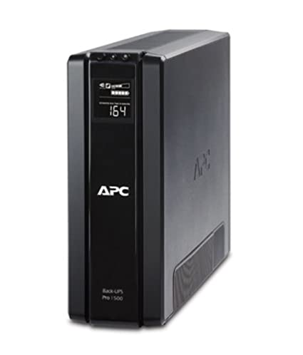 APC BR1500G-IN 865-watt Back UPS (Black)