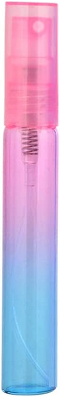 6pcs 4ml / 8ML portátil de viaje aerosol hidratante prensa vidrio coloreado pequeña botella de spray botella vacía, con viajes nebulizador envase cosmético vacío pulverizador perfume ( Size : 8ML )