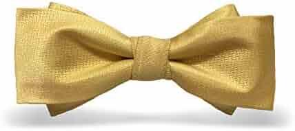 a5b4134690e6 Bow Ties for Men Comfortable Men's Bow tie Formal Tuxedo Bowtie Adjustable  Length Wedding Party Classic