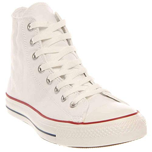 Converse Mens Chuck Taylor All Star High Top, 4 D(M) US, Optical White
