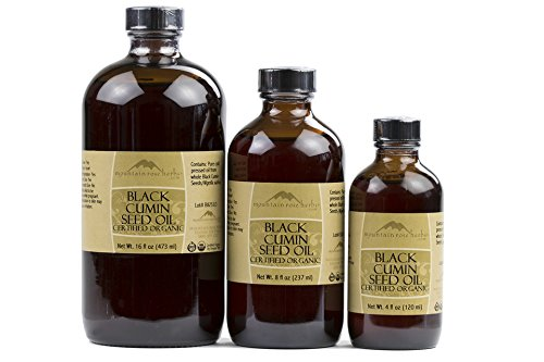 Mountain Rose Herbs - Black Cumin Seed Oil 16 oz by Mountain Rose Herbs (Image #1)