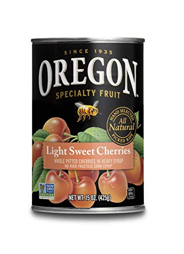 Oregon Fruit Pitted Light Sweet Cherries