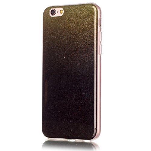 Phone Taschen & Schalen Für iPhone 6 Plus & 6s Plus IMD Farbe Fades Glitter Powder TPU Schutzhülle ( SKU : IP6P8855G )