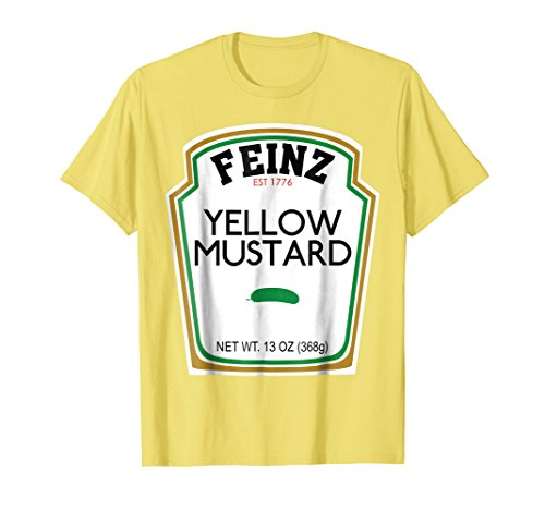 Mustard Matching Best Friend Halloween Costume T-Shirt