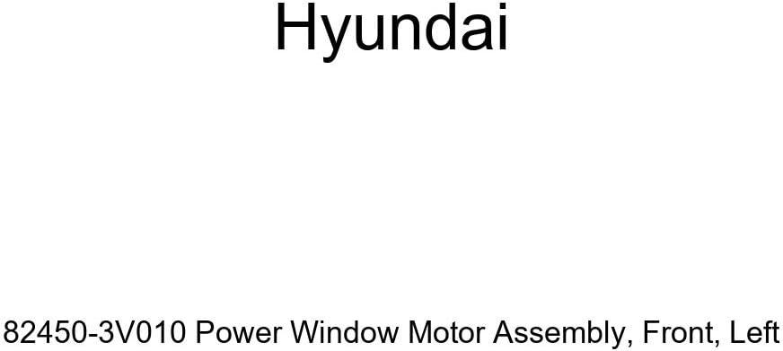 Left Genuine Hyundai 82450-3V010 Power Window Motor Assembly Front
