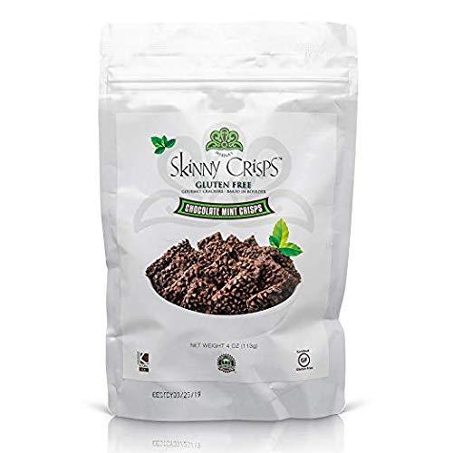 - Skinny Crisps Chocolate Mint Gluten Free Crackers (Single 4oz Bag)