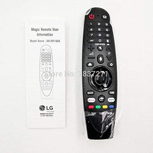 Calvas original voice remote control AN-MR18BA for LG OLED65G8 OLED65W8P OLED77C8P OLED77W8P OLED77W9P UK SK series OLED smart tv
