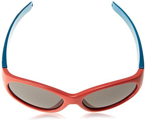 Dice D035693Lunettes de soleil Taille unique Shiny Shiny Orange/Blue