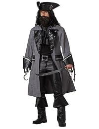 California Costumes Blackbeard The Pirate Adult Costume
