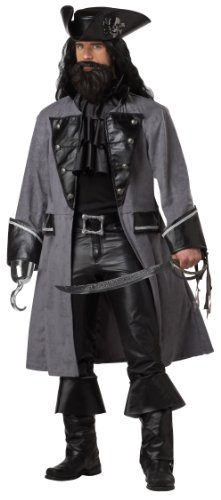 Blackbeard the Pirate Adult Costume (XL) -