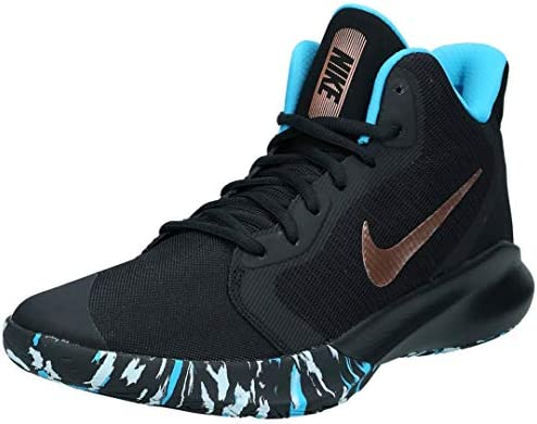 black and bronze nike shoes