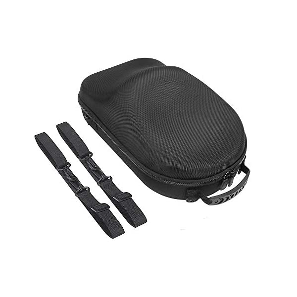 HIJIAO Hard and Concise Travel Case for Oculus Rift S PC-Powered VR Gaming Headset (Black) 6