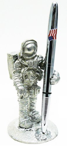 Jac Zagoory Pen Stand Take a Giant Step Astronaut Stand - JZ-PH107 - Astronaut Stands