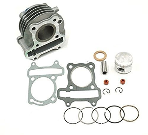 GY6 50cc to 60cc 44mm Big Bore Cylinder Kit (upgrade (24x44mm Dot)