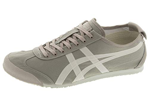 Onitsuka Tiger Unisex Mexico 66 Bamboo Charcoal/Cream 9 Women / 7.5 Men M US