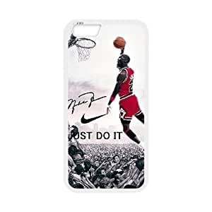 iphone6 plus 5.5 inch case(TPU), michael jordan Cell phone case White for iphone6 plus 5.5 inch - HHKL3331814