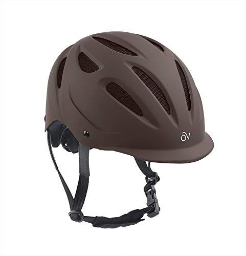 Ovation Women's Protege Riding Helmet, Brown Matte, Small/Medium