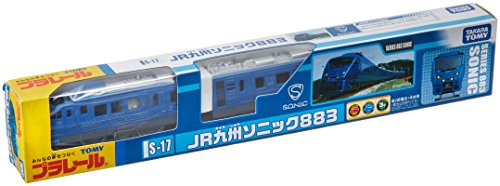 S-17 883 Kyushu Railway Company (Tomica PlaRail Model Train)