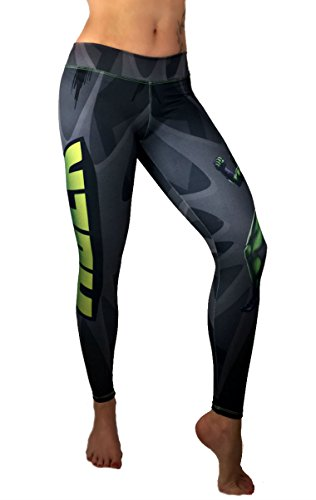 She Hulk Superhero Leggings Yoga Pants Compression -