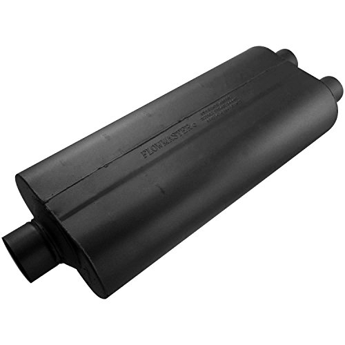 - Flowmaster 530722 70 Series Muffler - 3.00 Center IN / 2.25 Dual OUT - Mild Sound