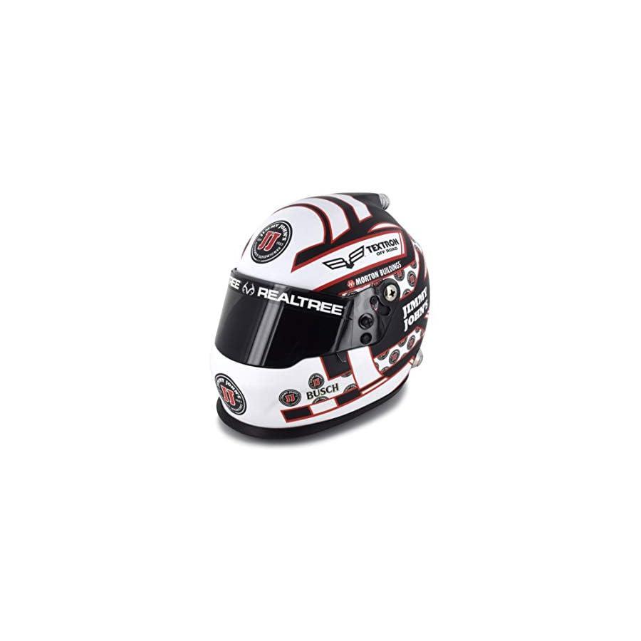 BrandArt Kevin Harvick 2018 1/3 Scale Jimmy John's Replica Mini Helmet